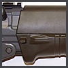 Green SG551 -  View of Right Foregrip