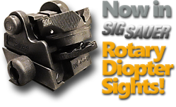Now in Sig Sauer Rotary Diopter Sights
